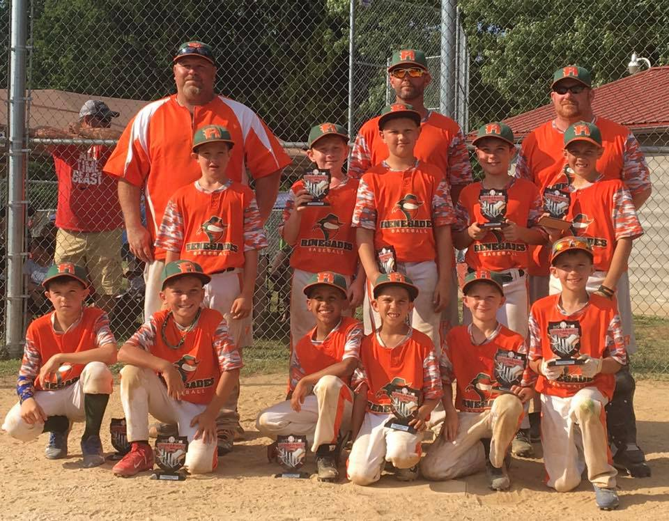 Renegade 9U 2nd place 6_18_17